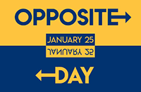 Opposite Day how to celebrate