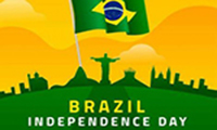 Happy Independence Day Brazil